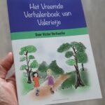 Voorkant Vreemde Verhalenboek van Valerietje